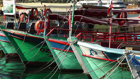 Alanya Turkey 96 port Stock Video Footage