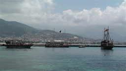 Alanya Turkey 117 port Stock Video Footage