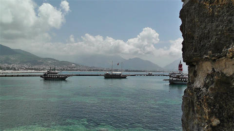 Alanya Turkey 123 Stock Video Footage