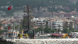 Alanya Turkey 125 Stock Video Footage