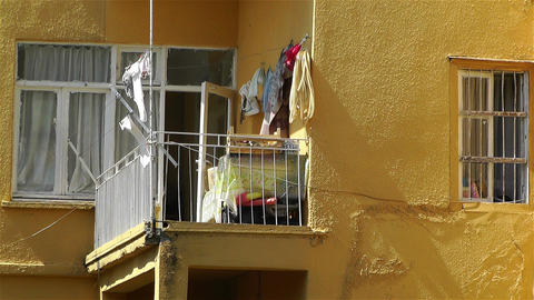 House in Turkey 1 Stock Video Footage