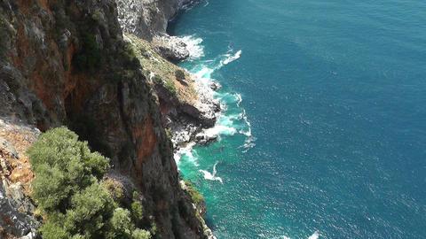 Mediterranean Sea 3 Stock Video Footage