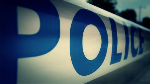 Police Closed Area 4 styilzed Footage