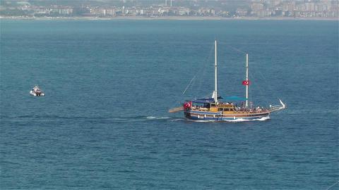 Ships in Turkey 1 Footage