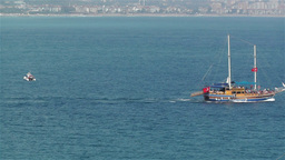 Ships in Turkey 1 Stock Video Footage