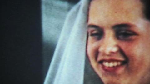 Teenage Girl Prepares For Communion-1958 Vintage Stock Video Footage