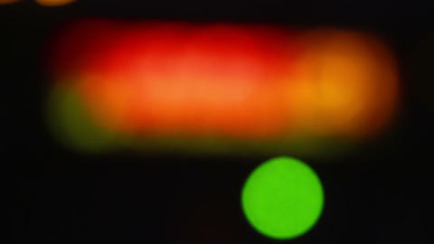 Blurred Lights Shine 1 Stock Video Footage