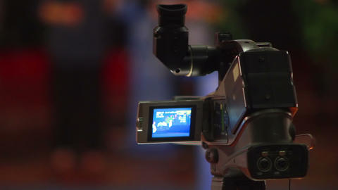 Videocamera stock footage