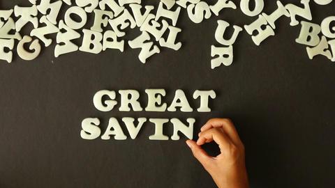 Great Savings Footage