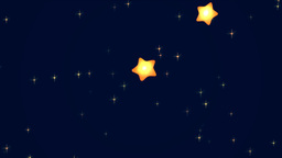Explosion of stars for the appearance of text or Stock Video Footage
