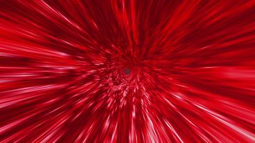 Star Burst Rays Tunnel Vortex Red Background Stock Video Footage