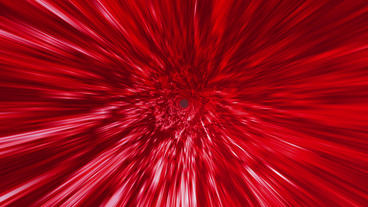 Star Burst Rays Tunnel Vortex Red Background stock footage