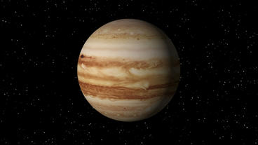 Jupiter Rotating Seamless Loop Stock Video Footage