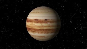 Jupiter Rotating Seamless Loop Animation