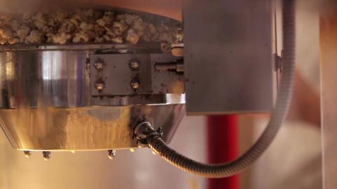Popcorn making 2 Stock Video Footage
