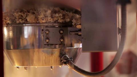 Popcorn making 2 Footage