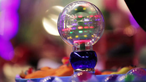 Light toy ball Stock Video Footage