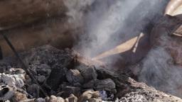 Blacksmith at work 5 Stock Video Footage