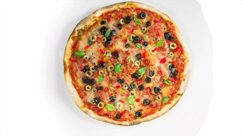 pizza Stock Video Footage