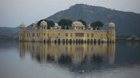 Jal Mahal Stock Video Footage
