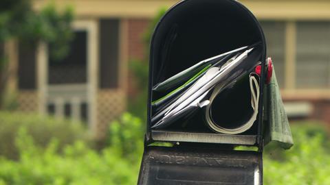 Mailbox Timelapse Footage