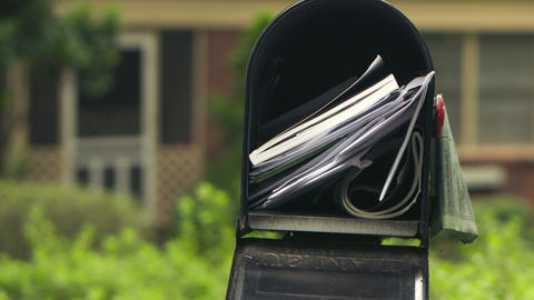 Mailbox Timelapse Stock Video Footage