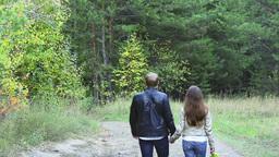 Romantic couple Stock Video Footage
