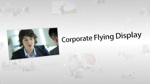 Corporate Flying Display - Apple Motion and Final Cut Pro X Template Apple Motion Template
