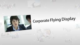 Corporate Flying Display - Apple Motion Template