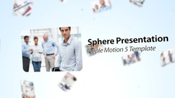 Sphere Presentation - Apple Motion Template