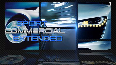 Sport Commercial Extended - Apple Motion and Final Cut Pro X Template Apple Motion Template