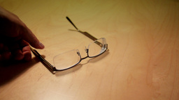 Eyeglasses Stock Video Footage
