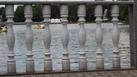 catamarans and columns 2 Footage