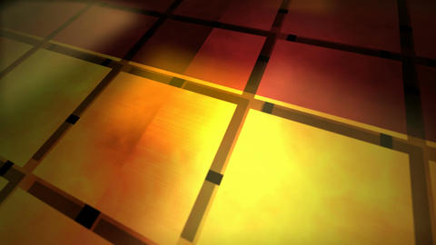 grid light floor Stock Video Footage