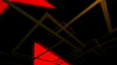 red glowing arrow Stock Video Footage
