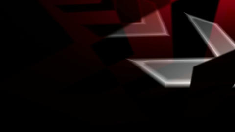 running red arrow Stock Video Footage