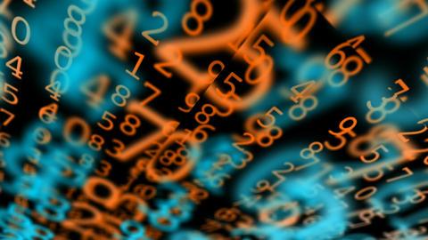matrix random space Stock Video Footage