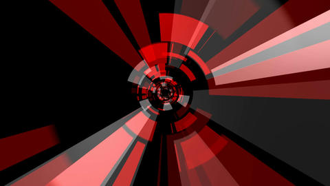 Core Radial Tunnel stock footage