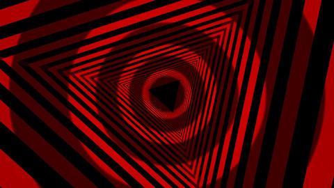 naline HD snd 0318 red venetian tunnel Stock Video Footage