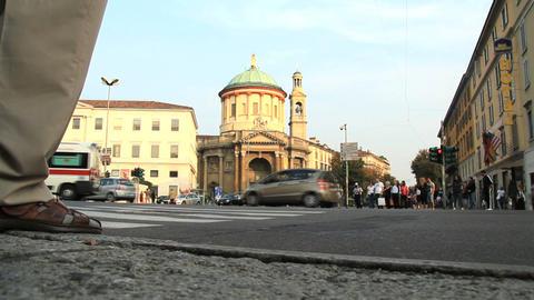 Bergamo Stock Video Footage