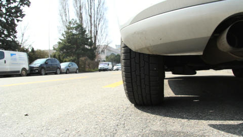 Car exhaust Stock Video Footage