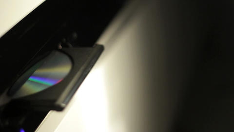 CD player Stock Video Footage