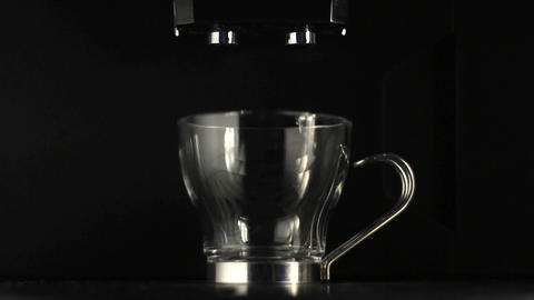 Coffee preparation Stock Video Footage