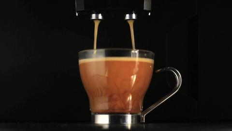 Coffee preparation Stock Video Footage