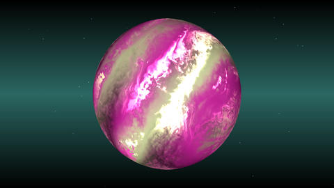 Pink sphere Animation