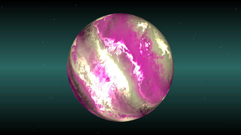 Pink sphere Stock Video Footage