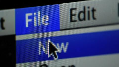 Mac display Stock Video Footage