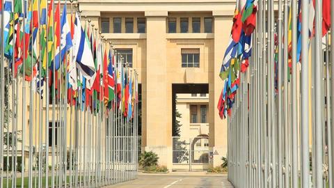 UNO Geneva Footage
