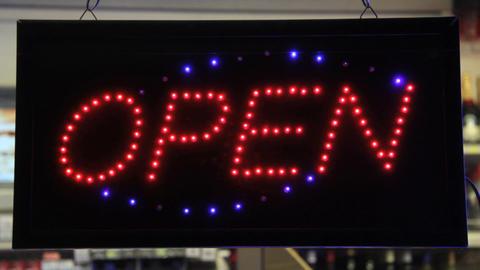 It's open Stock Video Footage