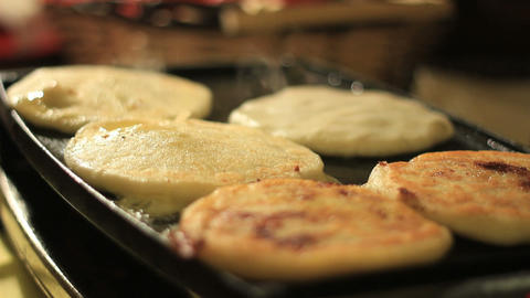 Pupusas Stock Video Footage